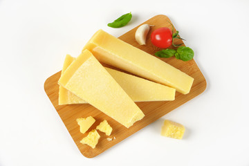parmesan cheese wedges