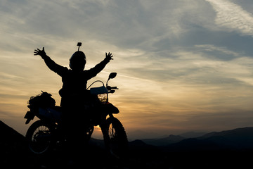 motorsiklet macerası
