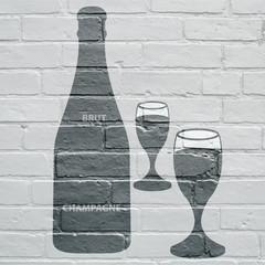 Art urbain , Champagne