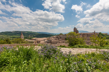 Palace of Urbino in Italy