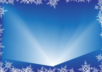 Фон новогодней рождественской поздравительной открытки