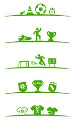 Symbole Fussball