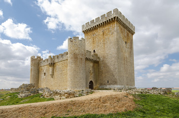 Castle of Villalonso Zamora Spain