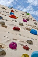 Outdoor Kletterwand