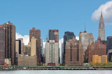 Manhattan skyline with Chrysler Building