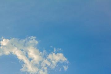 landscape cloud with bluesky background