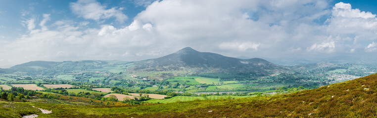 wicklow mountains great sugarloaf