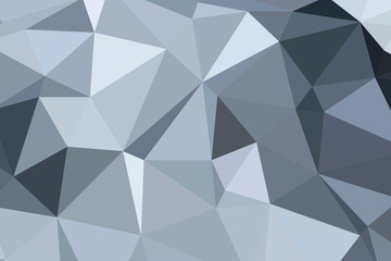 white polygon pattern for background or web banner design.