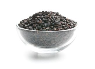 Black sesame seeds.