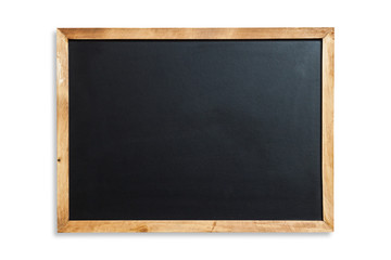 School blackboard,blackboard isolated on white background