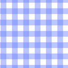 blue checkered seamless pattern vector