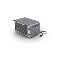 Oven portable isolated on white 3D Illustration