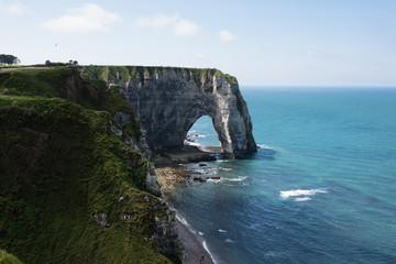 Cliffs Aval of Etretat, Normandie