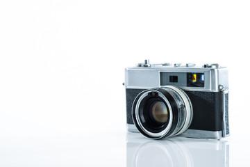 古いカメラ 白背景
