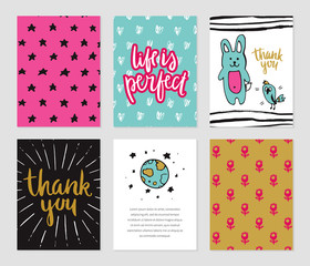Romantic cards collection.