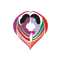 love vector symbol