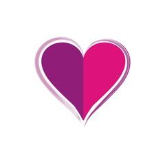 vector symbol heart