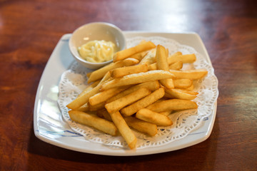French-fried potatoes