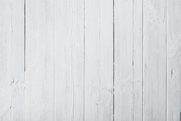 Vintage white painted wood texture background