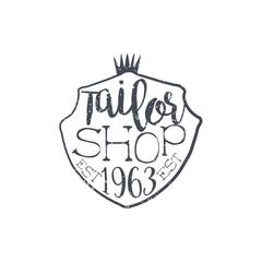Tailor Shop Vintage Emblem