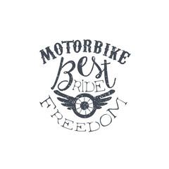 Best Motorbike Vintage Emblem