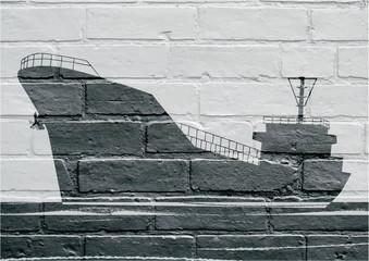 Art urbain, cargo