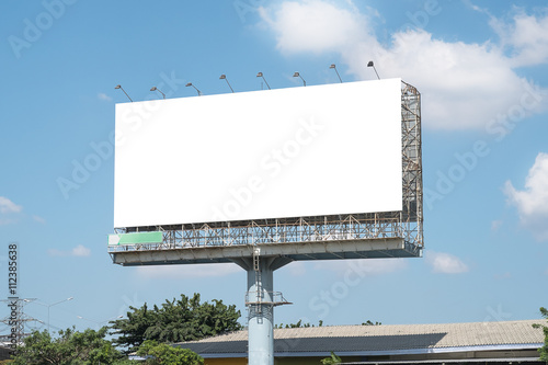 blank billboard mockup template in bangkok thailand stock photo and royalty free images on. Black Bedroom Furniture Sets. Home Design Ideas