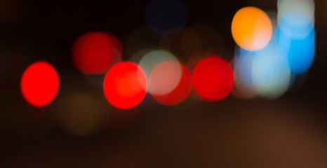Blurred image of lights. Abstract blur background. Abstract background.