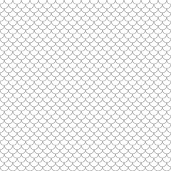scales simple seamless pattern