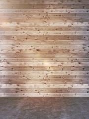 Fotobehang Retro Empty wall in interior toning
