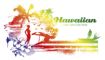 hawaiian surf addiction mode