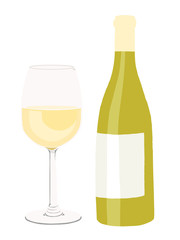 white wine, wein, vector