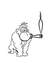Gorilla kiffen joint