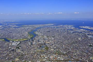 川崎上空/Aerial view