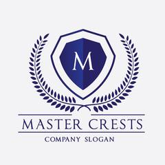 Luxury brand logo,hotel logo,crest logo template.
