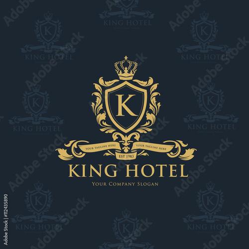 "J Letter Design ""King hotel logo,..."