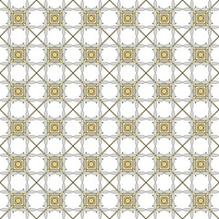 Abstract seamless texture of the elements gold and silver