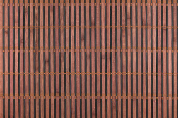 Bamboo brown mat as abstract texture, background, composition
