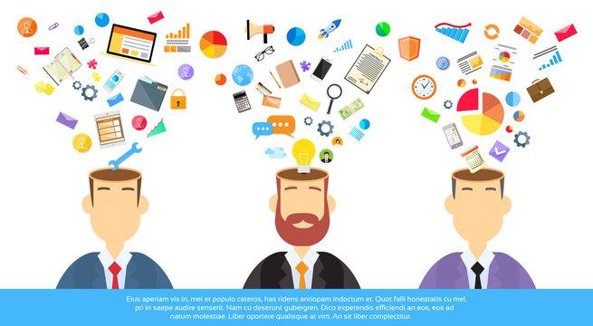 Businessmen Thinking Business Ideas Inspiration