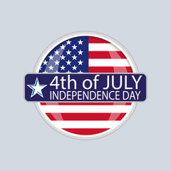 Wall Mural - Independence day