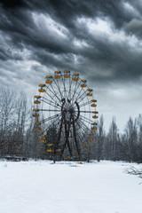 Chernobyl at winter
