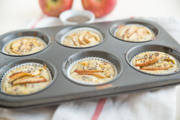 Apfel Vollwert Muffins