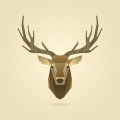 deer portrait realistic