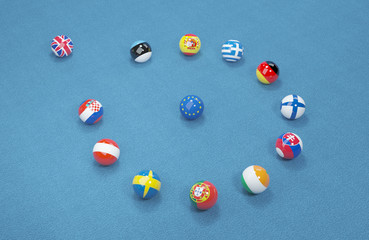UK referendum on the exit from the European Union. 3d illustration 7