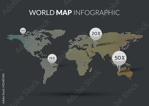 World vector map template isolated world earth geography global world vector map template isolated world earth geography global design of atlas background stock image and royalty free vector files on fotolia pic gumiabroncs Choice Image