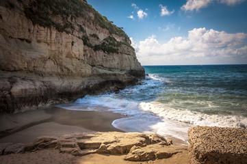 Wall Mural - Scenic beach, Tropea, Coast of the Gods, Italy
