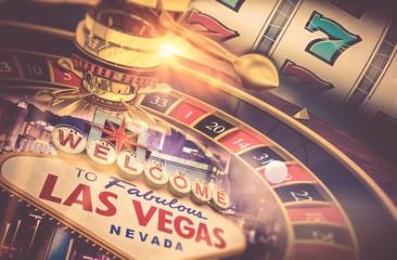 Las Vegas Gambling Concept