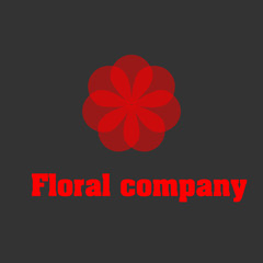 Floral company logo