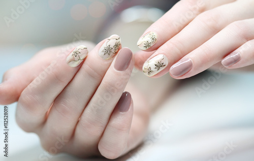 Nail Polish Art Manicure Colored Beauty Hands Stylish Colorful Nails