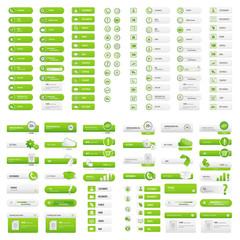Green user button set